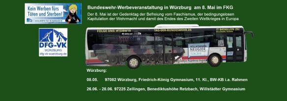 Buswerbung Augsburg Bundeswehr wü