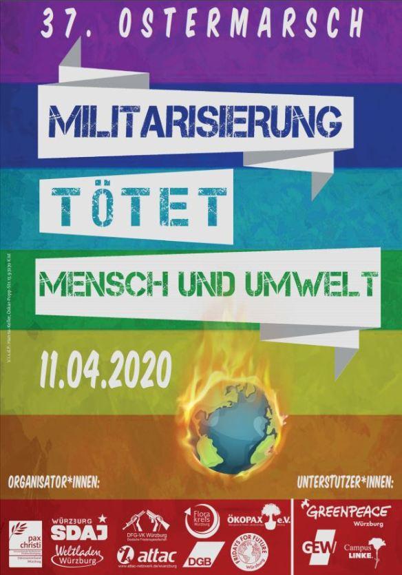 37. ostermarsch plakat